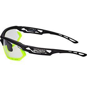 Rudy Project Fotonyk Glasses Matte Black/Lime ImpactX Photochromic 2 Black
